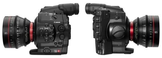 Canon C300 digital cinema camera