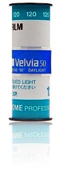 Fujichrome Velvia 50 RVP