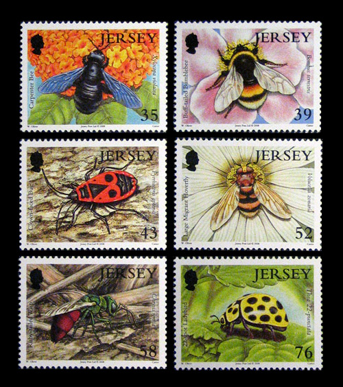 Jersey Post, 2008: Jersey Nature - Insects II