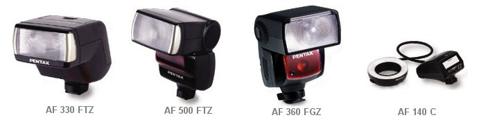 Pentax 645 flashes