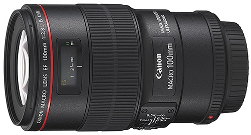 Canon EF 100mm F2.8 L USM Macro with Hybrid IS