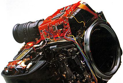 Pentax 645N electronics